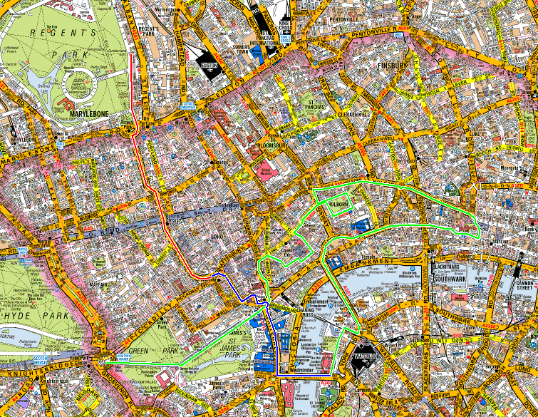 London Regents Park 2013 route.png