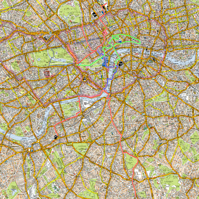 London 2013 routes.png