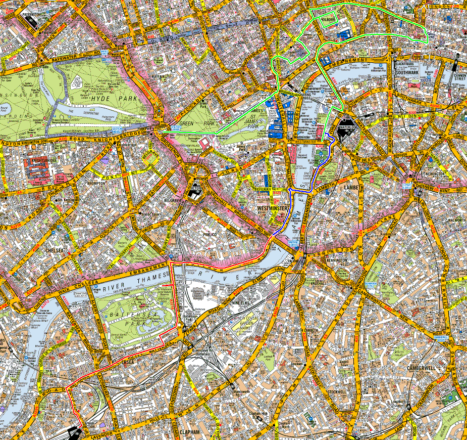 London Clapham Junction 2013 route.png