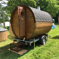 Brighton Naked Bike Ride 2018 sauna by Sauna Bay